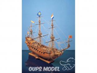 Corel bateaux bois SM40 Prins Willem Vaisseau hollandais du XVIIe siècle 1/100