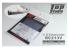 Top Studio amélioration TD23174 Silencieux RC213V pour kit Tamiya 1/12