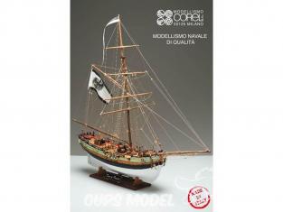 Corel bateaux bois SM62 Le Roi de Prusse Jhon Carter 1/42