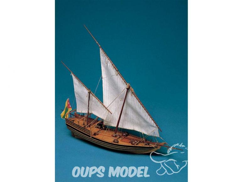 Corel bateaux bois SM36 Sambouk arabe 1/50
