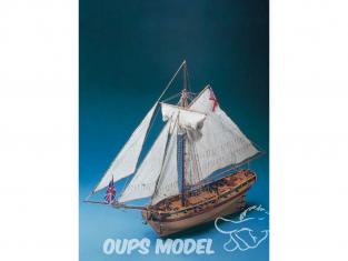 Corel bateaux bois SM38 H.M.S. Resolution Cutter anglais du XVIIIe siècle 1/50