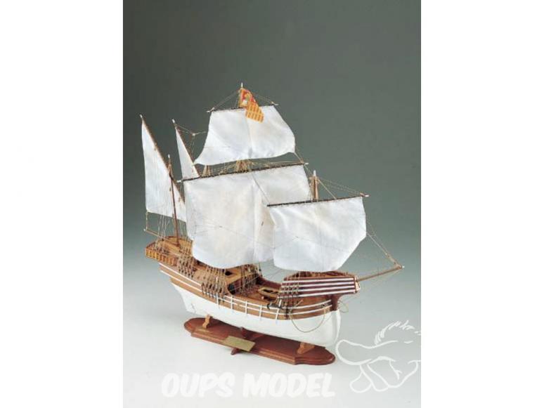 Corel bateaux bois SM30 Cocca Veneta Navire marchand du XVIe siècle 1/70