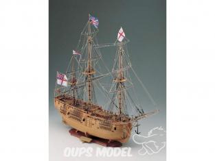 Corel bateaux bois SM41 Endeavour Brick à trois mâts anglais de 1768 1/60