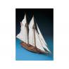 Corel bateaux bois SM19 Flying Fish Goélette américaine de 1860 1/50