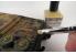Mr Hobby pinceau MB30 Mr Weathering set de Pinceaux brosse poils dur