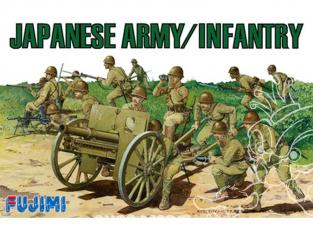 Fujimi maquette militaire 761220 Infanterie Armée Japonaise WWII 1/76