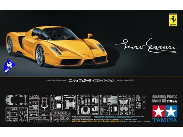 TAMIYA maquette voiture 24301 Ferrari Enzo Jaune 1/24