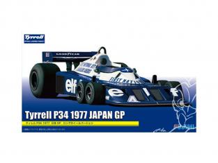 Fujimi maquette voiture 092058 Tyrrell P34 GP du japon 1977 1/20