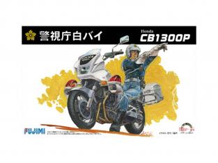 Fujimi maquette moto 141664 HONDA CB1300P police japonaise 1/12