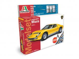 Italeri modelset voiture 72002 Lamborghini Miura 1/24