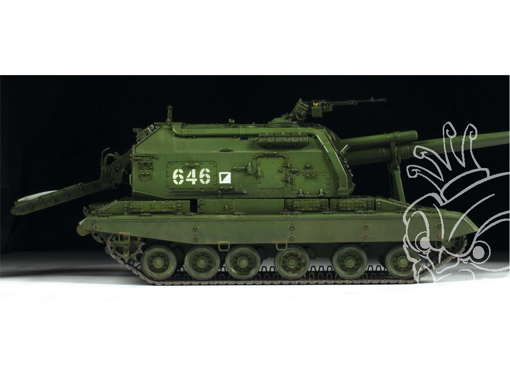 Eduard Eduabig3590 Msta-S Howitzer 1//35