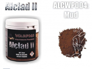 Pigments Alclad II Warpigs ALCWP004 Pigments Boue 20ml