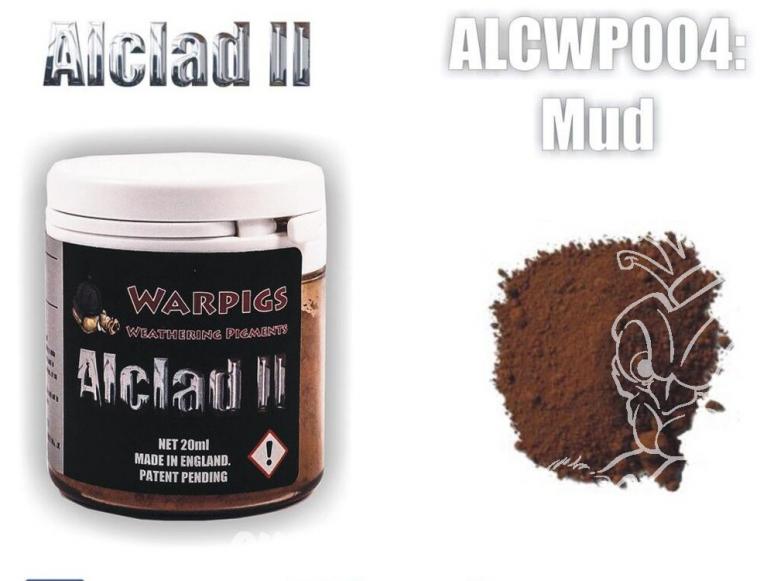 Pigments Alclad II Warpigs ALCWP004 Pigments Boue 20ml