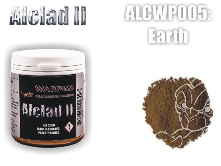 Pigments Alclad II Warpigs ALCWP005 Pigments Terre 20ml