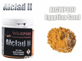Pigments Alclad II Warpigs ALCWP007 Pigments Terre Egyptienne 20ml