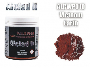Pigments Alclad II Warpigs ALCWP010 Pigments Terre Vietnamienne 20ml