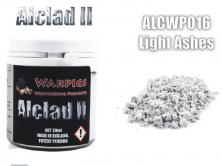 Pigments Alclad II Warpigs ALCWP016 Pigments Cendre grise legere 20ml