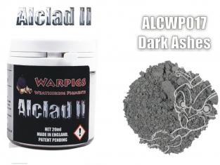 Pigments Alclad II Warpigs ALCWP017 Pigments Cendre grise foncée 20ml