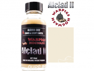 Washes Alclad II Hogwash ALCHW002 sable et terre legere 30ml