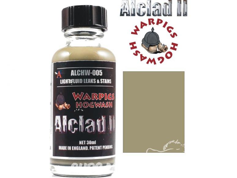 Washes Alclad II ALCHW005 taches et stries de liquide clair 30ml