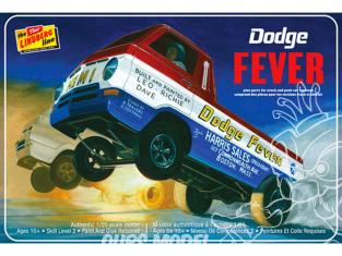 LINDBERG maquette voiture HL135 Dodge Fever Wheelstander 1/25