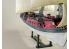 Lindberg maquette bateau HL218 Jolly Roger Series: Flying Dutchman 1/130