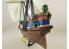 Lindberg maquette bateau HL219 Jolly Roger Series: Satisfaction of Captaine Morgan 1/130