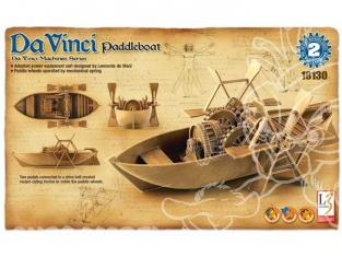 Academy maquette Da Vinci 18130 bateau roues a aubes