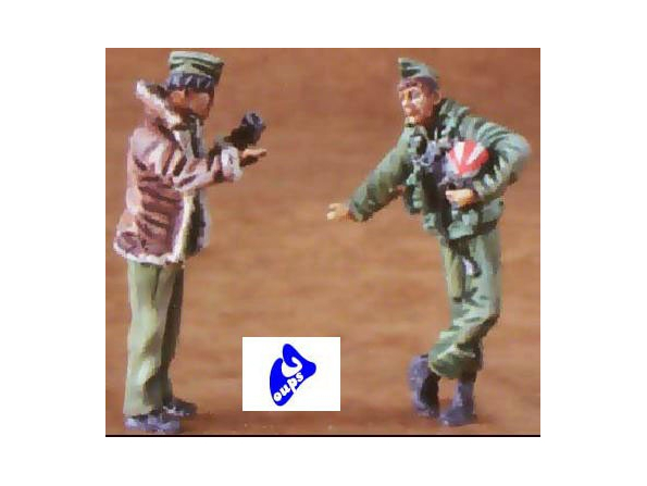 CMK figurine 48083 PILOTES USAF 1/48