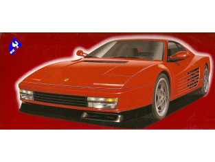 Fujimi maquette voiture 10164 Ferrari Testarossa 1/16