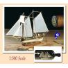 Amati Kit bateau bois 1355 HANNAH 1/300