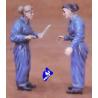 CMK figurine 48100 PILOTE FEMININ WAAF US 1/48