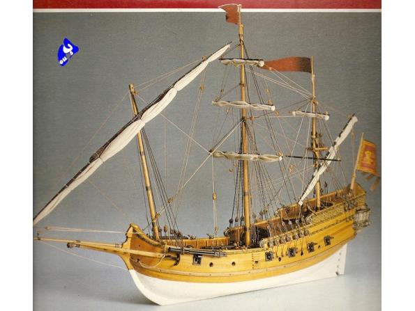 Amati Kit bateau bois 1407 POLACCA NAVIRE VENITIEN 1/150