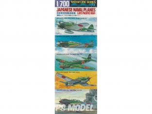 Tamiya maquette avion 31516 Avions Marine japonaise 1/700