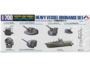 Maquette accessoires bateau TAMIYA 31517 Accessoires pour bateaux lourd japonais 1/700