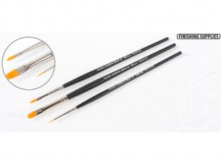 Tamiya pinceau 87067 Set de 3 pinceaux HF Standard