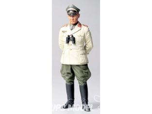 Tamiya maquette militaire 36305 Feldmarschall ROMMEL German Africa Corps 1/16
