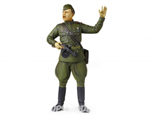 Tamiya maquette militaire 36314 Field Commander Russe WWII 1/16