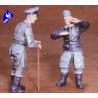 CMK figurine 48101 PILOTE DE JET ALLEMAND 1/48