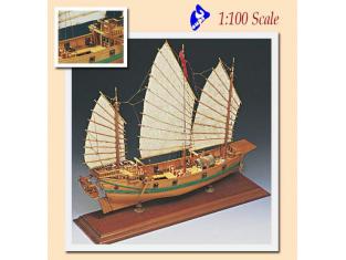 Amati Kit bateau bois 1421 JONQUE CHINOISE 1/100