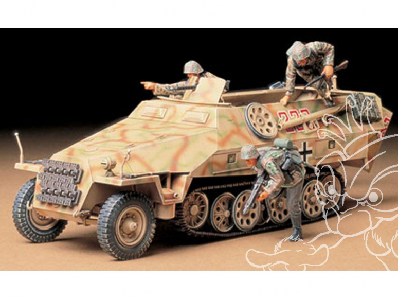 tamiya maquette militaire 35195 Mtl. SPW Sd.Kfz. 251/1 1/35
