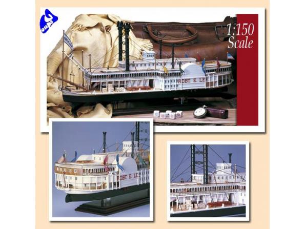 Amati Kit bateau bois 1439 ROBERT E LEE XIXème SIECLE 1/150