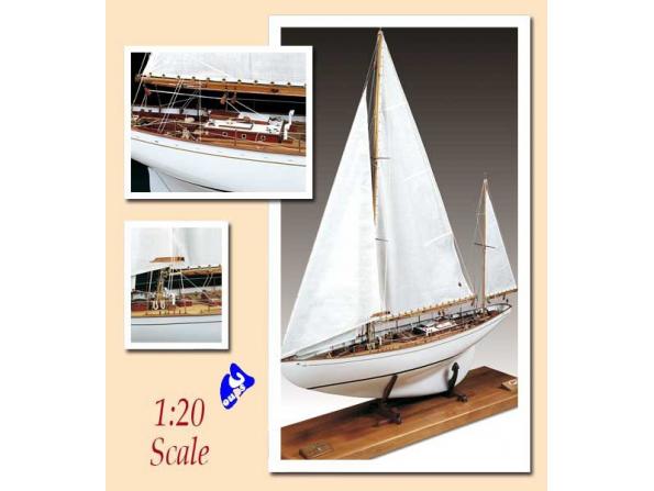 Amati Kit bateau bois 1605 LA DORADE 1/20