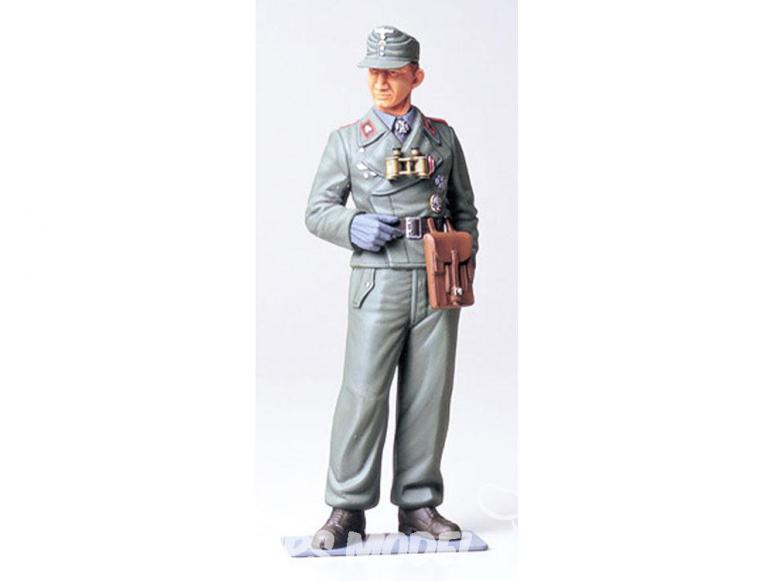 Tamiya maquette militaire 36301 Commandant de char de la Wehrmacht WWII 1/16