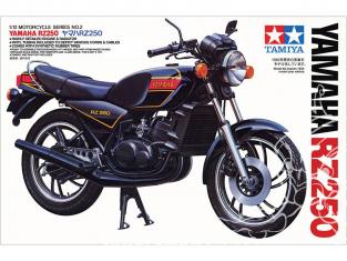 Tamiya maquette moto 14002 Yamaha RZ250 1/12