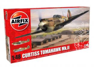 Airfix maquette avion 05133 Curtiss Tomahawk MK.II 1/48