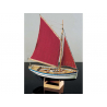 Corel bateaux bois SM43 Sloup Embarcation de Bretagne 1/25