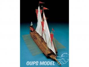 Corel bateaux bois SM25 Reale de france Galère du XVIIe siècle 1/24