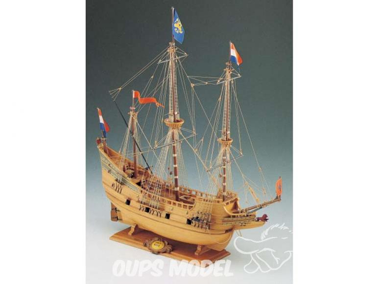 Corel bateaux bois SM18 Half Moon Galion hollandais du début du XVIIe siècle 1/50