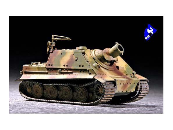 """Trumpeter maquette militaire 07247 CANON D&39ASSAUT """"STURMTIGER"""" 1"""